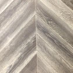 Паркетная доска - FB Дуб Рустик Теннессе Белый Франц.елка 13*120*520 мм МФ2*