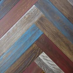 Паркетная доска - FB Дуб Рустик Миннисота Натур Венгер.елка 13*120*600 мм МФ2
