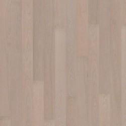 Паркетная доска Дуб Жемчуг 1-пол., Сити, глян. Лак,микро фаски, белый перламутр.2420x187x15